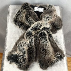 🔥Preston & York Faux Fur Collar Stole/Wrap
